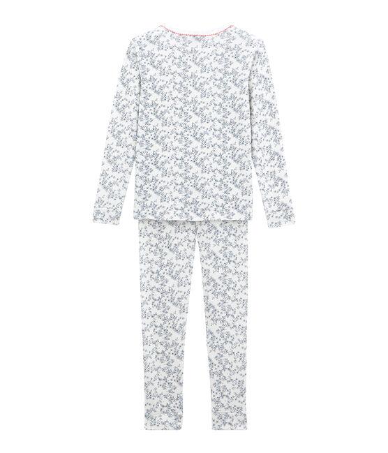 Pigiama per bambina bianco Marshmallow / bianco Multico
