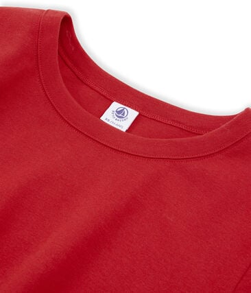 T-shirt manica corta iconica donna rosso Terkuit