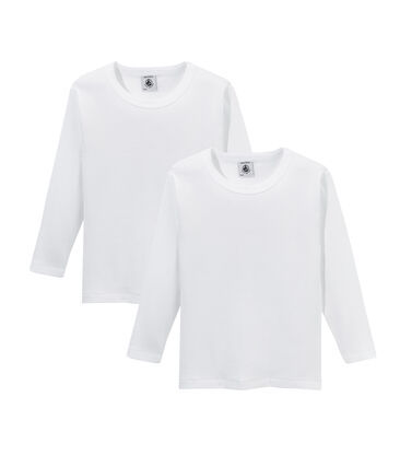Duo t-shirt maniche lunghe ragazzo lotto .
