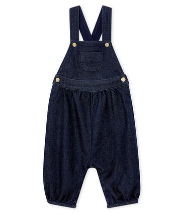 Salopette in denim per bebé femmina blu Denim Bleu Fonce
