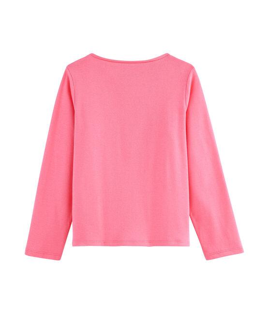 T-shirt a maniche lunghe bambina rosa Cupcake