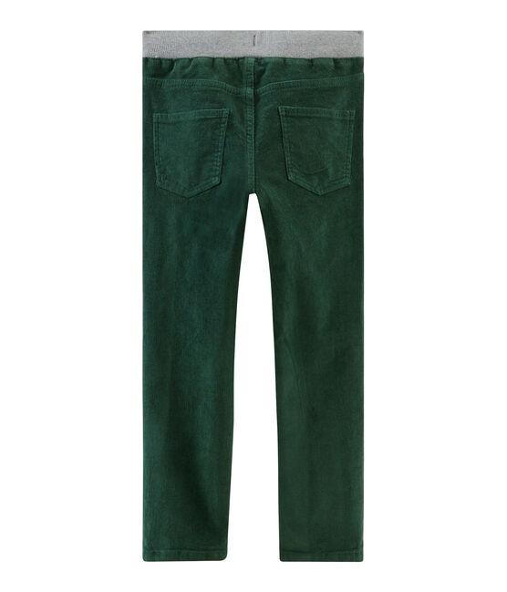 Velluto bambino verde Sousbois