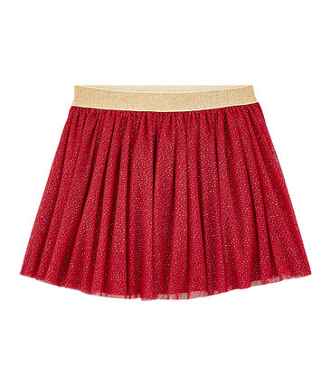 Gonna in tulle bambina rosso Terkuit / giallo Or