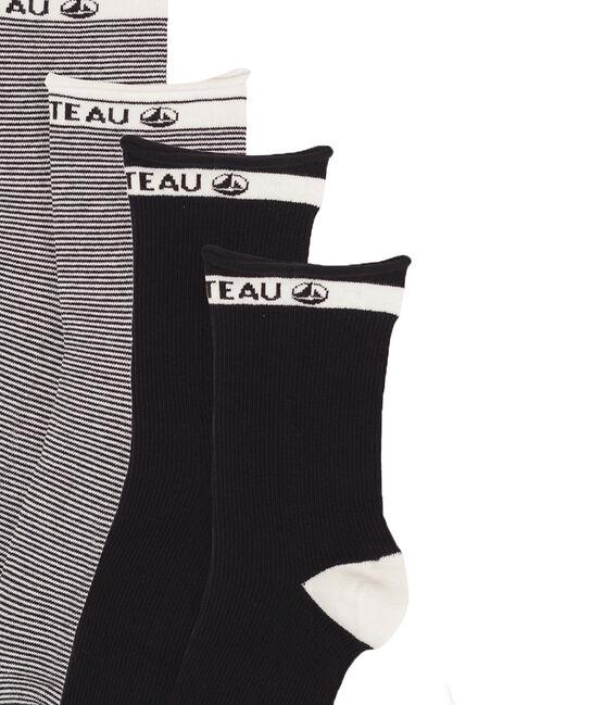 Lotto di calzini a metà polpaccio donna lotto .
