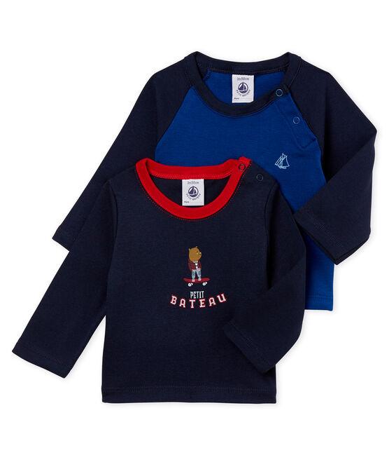 Lotto di due t-shirts per bebé maschio lotto .