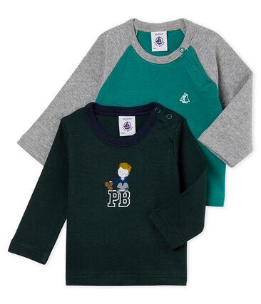 Lotto di due t-shirts per bebé maschio