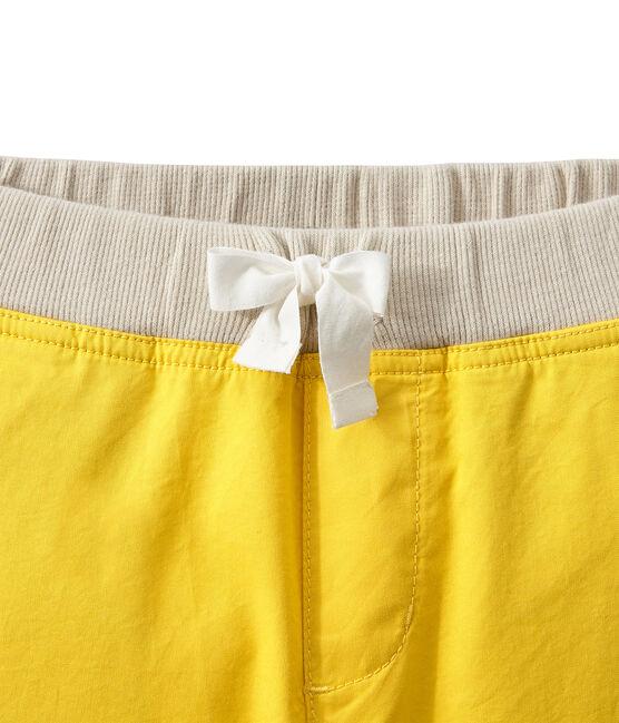 Shorts bambino giallo Ble