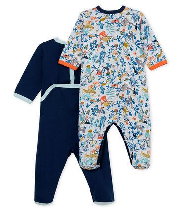 Duo tutina pigiama bambino a costine