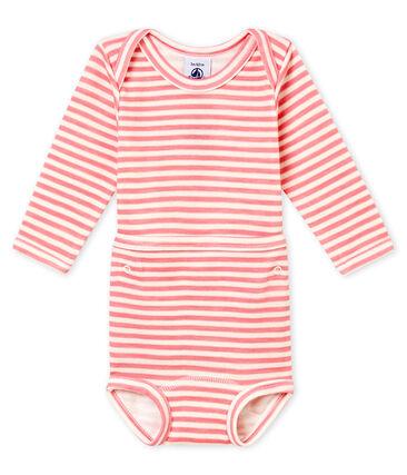 Body a maniche lunghe 2 in 1 bebé maschio
