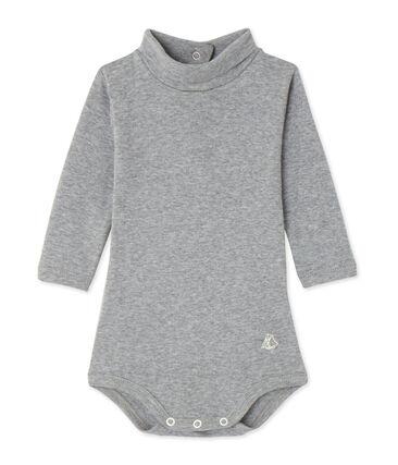 Body bébé con collo alto grigio Subway Chine