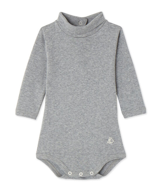 Body bébé con collo alto grigio Subway Chine
