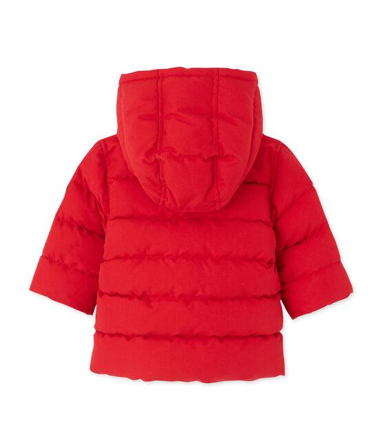 Piumino per bebé maschio rosso Froufrou