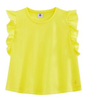 Top bambina giallo Eblouis