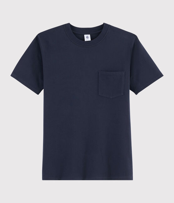 T-shirt Donna/Uomo blu Smoking