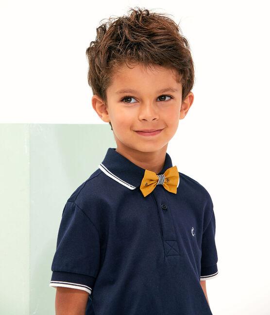Bermuda bambino giallo Topaze / bianco Feta