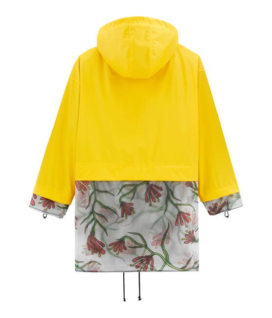 Parka giallo Shine / bianco Multico