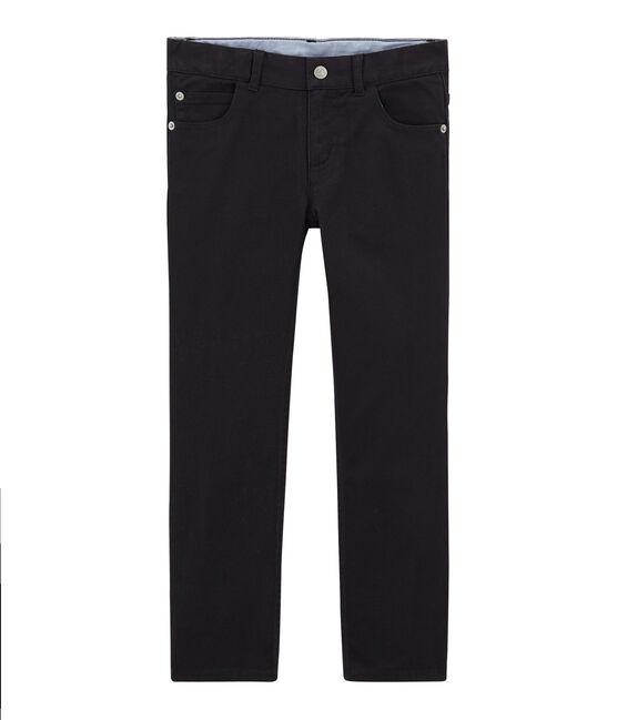 Pantalone per bambino in denim grigio Capecod
