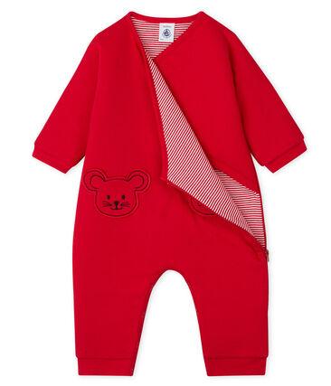 Tutina bebè unisex rosso Terkuit