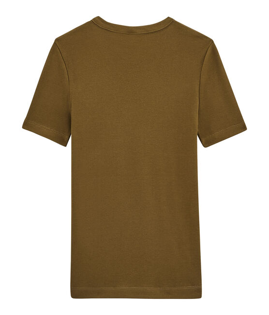 tee-shirtdonna maniche corte marrone Autumn