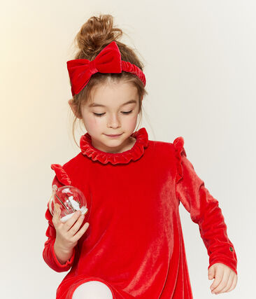 Fascia bambina rosso Terkuit