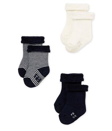 Lotto da 3 paia di calzini bebè unisex lotto .