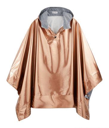 Mantellina da pioggia reversibile donna