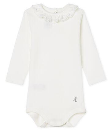 Body manica lunga bebè femmina con collettino