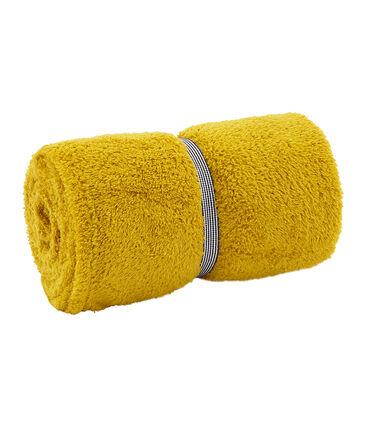 Asciugamano bambino /adulto unisex giallo Bamboo