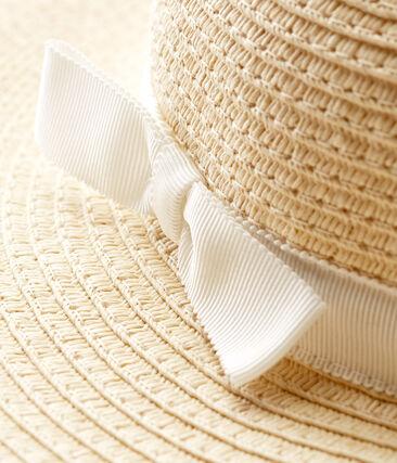 Cappello di paglia neonata