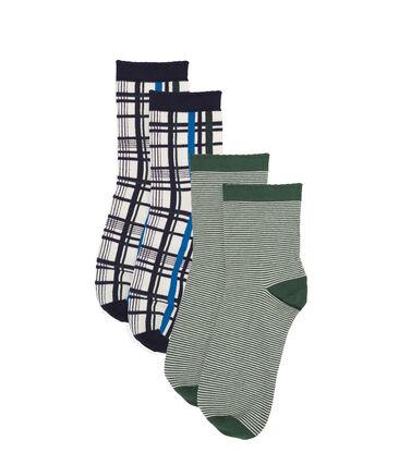Set calzini a metà polpaccio donna lotto .