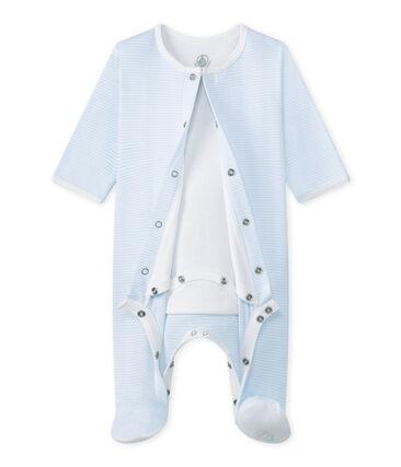 Bodygiama Bebé unisex blu Fraicheur / bianco Ecume
