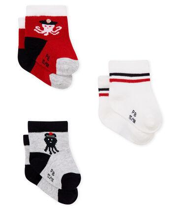 Confezione da 3 paia di calzini neonato
