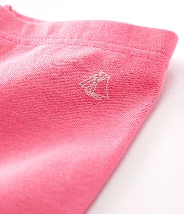 Leggings bebè femmina rosa Cupcake