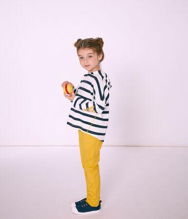 Marinière con cappuccio bambina