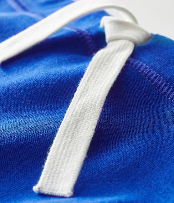Short bebè unisex a tinta unita blu Surf