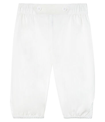 Pantalone da cerimonia in popeline da bebè maschio