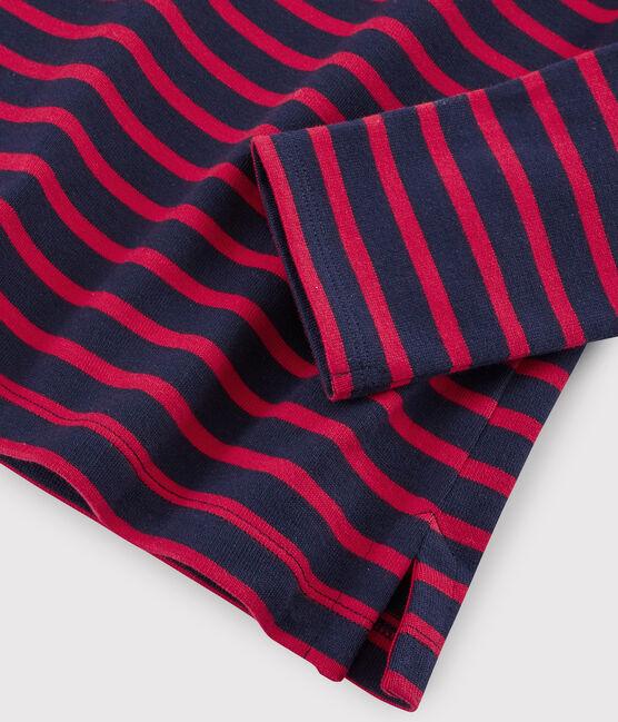 Marinière iconica Donna blu Smoking / rosso Terkuit