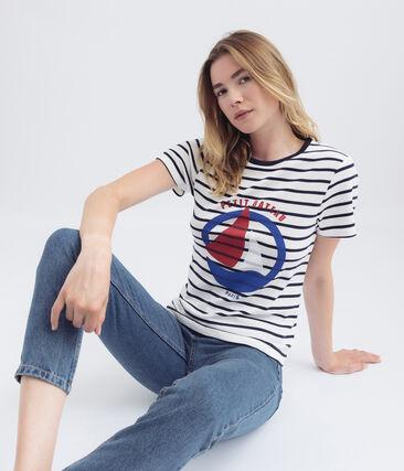 tee-shirtdonna righe marinière