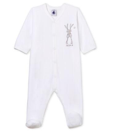 Tutina pigiama bebè unisex in velluto