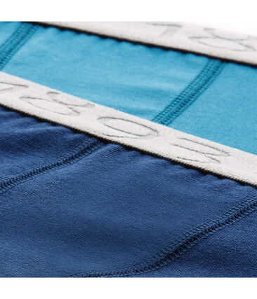 Confezione di 2 boxers bambino in jersey stretch - Vecchia collezione lotto .