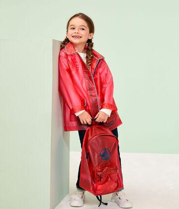 Cerata bambino e bambina rosso Geisha