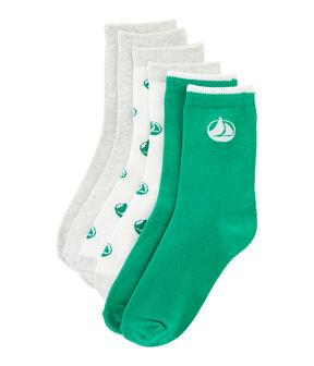 Set di 3 paia di calzini bambino lotto .