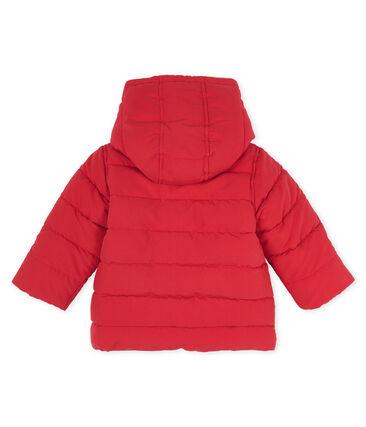Piumino bambino in microfibra rosso Terkuit
