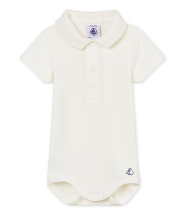 Body mc colletto polo neonato maschietto tinta unita
