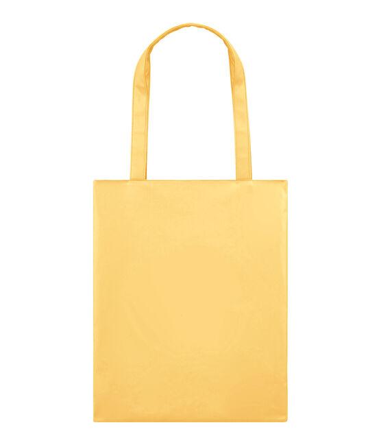 borsa shopping tinta unita giallo Dore