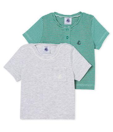 Confezione da 2 t-shirt mc bebè maschietto