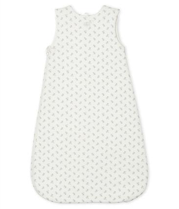 Sacco nanna bebè a costine bianco Marshmallow / bianco Multico