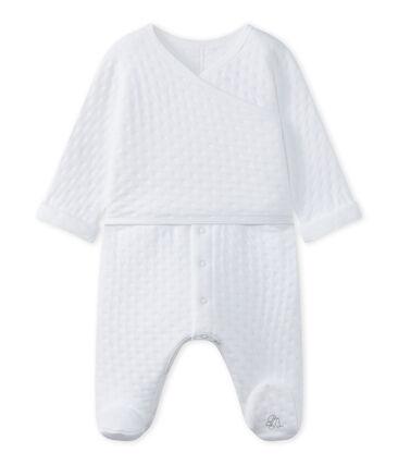 Tutina bebé unisex in tubique matelassé