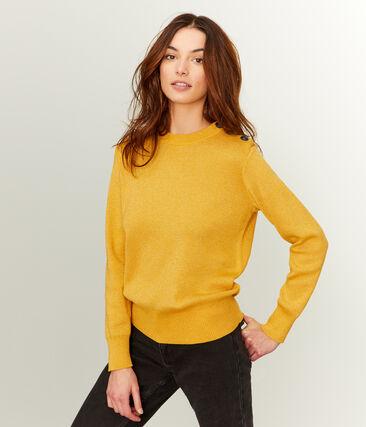 Pull donna giallo Boudor / giallo Or