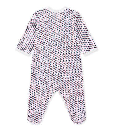 Tutina bebè bambino stampata bianco Ecume / bianco Multico